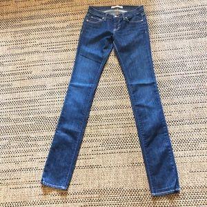 JBRAND Dark Wash Skinny Jean Size 25